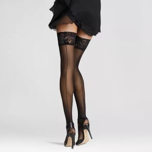 NWT Lace Top Thigh Highs